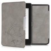 kwmobile Flipové pouzdro pro Amazon Kindle Paperwhite 4 (2018) - šedá