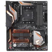 Placa de baza Gigabyte AORUS X470 GAMING 5 WIFI, AMD X470, AMD AM4, Wi-Fi