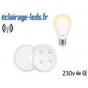 Ampoule led E27 10w température réglable dimmable sans fil ref dm-07