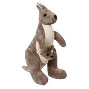 Soniya Enterprises Kangaroo(Soft Toy_Grey_50Cm)