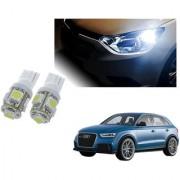 Auto Addict Car T10 5 SMD Headlight LED Bulb for Headlights Parking Light Number Plate Light Indicator Light For Audi Q3