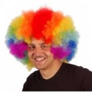 Paruka afro - barevná - DOPRODEJ