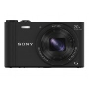 Sony Cámara Compacta SONY WX350 (Negro - 18.2 MP - ISO: 80 a 1600 - Zoom Óptico: 20x)