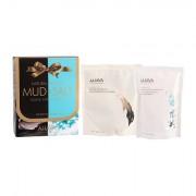 AHAVA Mud Deadsea Mud sada přírodní minerální bahno z Mrtvého moře 400 g + minerální koupelová sůl z Mrtvého moře 250 g pro ženy