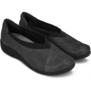 Clarks Sillian Holly Pewter Bellies For Women(Grey)