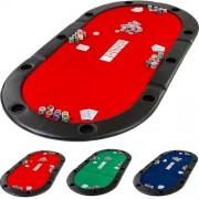 Mata do gry w pokera - czerwony