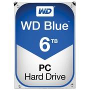 WD60EZRZ - 6TB Festplatte WD Blue - Desktop