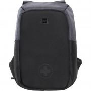 Swisstek Anti Theft Back Pack 30 L Laptop Backpack (Black, Grey)