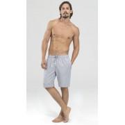 BlackSpade Нежные тканные мужские шорты из хлопка серого цвета BlackSpade b7351 Grey