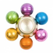 Dayspirit seis bolas de dragon Forma Gyro Fidget Hand Spinner - colorido