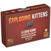 EXPLODING KITTENS Juegos De Mesa Y Cartas - Rojo