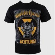 tricou stil metal bărbați Motörhead - Achtung g- Blk - ROCK OFF - MHEADTEE06MB