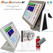 (guarda il video)Scarica il manuale del prodotto quiGestione di Magazzino completo, Supporto lettura/stampa barcode, Versione ULTRA, include supporto vendita al banco da Touch Screen, Stampa scontrino su registratore di cassa (XON / XOFF), compatibile con