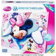 Disney Minnie I HEART MINNIE Real 3D Puzzle BReaKTHROuGH PUZZLE - Puzzles That Really Pop Out!