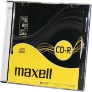 700MB CD-R, 52x, 10 de piese, Slim Case (624003.40.CN)