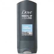 Imported Dove Men + Care Clean Comfort Face Body Wash - 250 ML (Made in Germany)