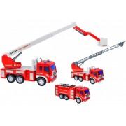 Masina de pompieri pentru copii Globo cu sunete si lumini