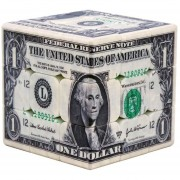 Impresión Uv Creativo Patrón Dólar Cubo Mágico Juguete Puzzle Brain Tr