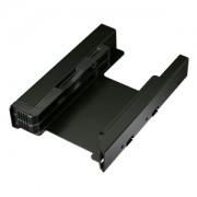 Adaptor Icy Dock EZ-Fit Pro MB082SP de la 3.5 inch la 2x 2.5 inch SSD/HDD, culoare neagra