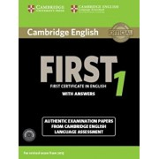 Cambridge English First 1 for Revised Exam from 2015 Student's Book Pack (Student's Book with Answers and Audio CDs (2)): Authentic Examination Papers, Paperback/***