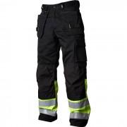 Vidar Workwear V500451C148 Hantverksbyxa gul/svart C148