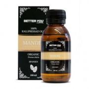 Better You Mandelolja EKO Kallpressad, 100 ml