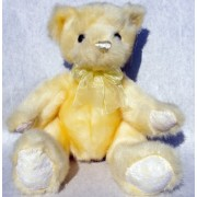 First & Main Sherbet Babies Old Time Teddy Bear Yellow