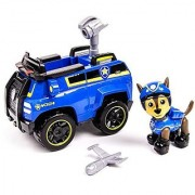 Paw Patrol Chase's Spy Cruiser Vehicle and Figure (works with Paw Patroller)