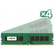 CRUCIAL TECHNOLOGY 64GB Kit (16GBx4) DDR4 2133 MT/s (CT4K16G4DFD8213)