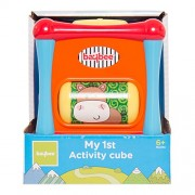 Baybee My First Activity Cube | Six Sides of Play Learners Activity Cube With Multipurpose Educational Toys for Kids and Toddlers
