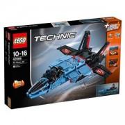 Конструктор ЛЕГО Техник - Реактивен самолет за състезания, LEGO Technic, 42066