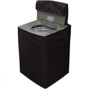 Glassiano Coffee Waterproof Dustproof Washing Machine Cover For LG T8567TEELR fully automatic 7.5 kg washing machine