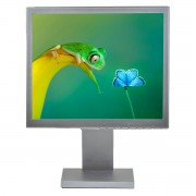 NEC 1760NX, 17 inch LCD, 1280 x 1024, negru - argintiu