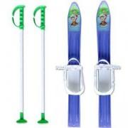 Комплект детски ски 60см. и щеки MASTER, MASkarC-01-blue