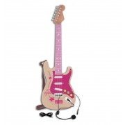 Guitarra Electrica Rock Infantil Rosa - Bontempi