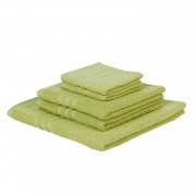 Home24 Set handdoeken Sylt (5-delig), home24 - Groen