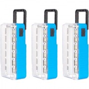 X-EON RL-114BLU 10W OliteRock Solar Rechargeable Emergency Light Portable -Mix Color ( Pack of 3 )