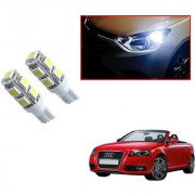 Auto Addict Car T10 9 SMD Headlight LED Bulb for Headlights Parking Light Number Plate Light Indicator Light For Audi A3 Cabriolet