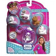 Puppy in My Pocket 48180 / Puppies & Clip-on Pouch Purple