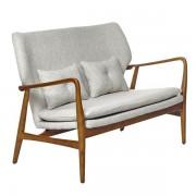 Canapea cu manere din lemn Peggy ecru Pols Potten
