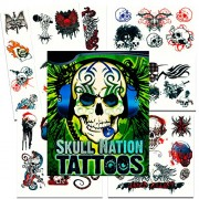 Savvi Skull Nation Tattoos - 39 Tattoos ~ Skulls