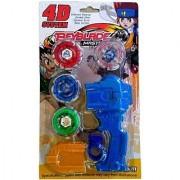 4D System BeyBlade Metal Masters Fury (Multicolor)