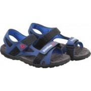 REEBOK Men CLUB BLUE/BLUE/BLK/GRY Sports Sandals