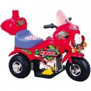 Biker toys mini moto con luci e suoni rossa 6 volts