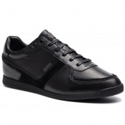 Boss Sneakersy BOSS - Glaze 50407902 10214384 01 Black 001