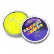 Inteligentná plastelína svietiaca žltá