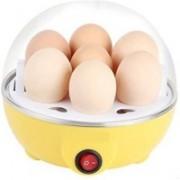 FUN2DEALZ ELECTRICITY EGG BOILER WITH NON STICK 122 Egg Cooker(Yellow, 7 Eggs)