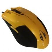 Мишка Omega 6D OPT GAMING, оптична, 2400 DPI, USB, жълта