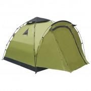 vidaXL Pop up палатка за къмпинг, 3-местна, зелена
