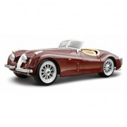 Bburago Speelgoedauto Jaguar XK 120 cabriolet rood 1:24